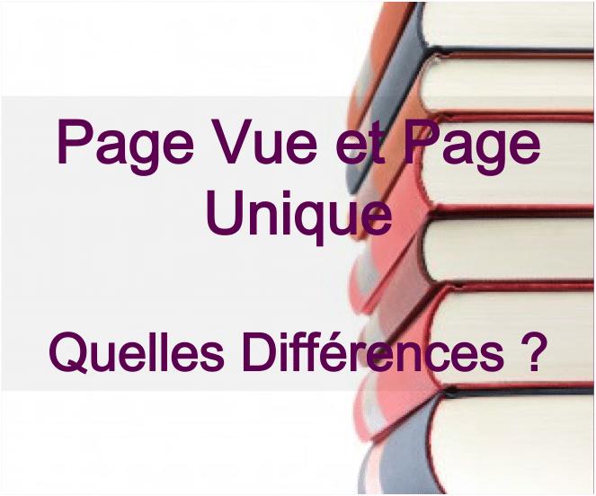 Différence entre pages vues et pages vues uniques