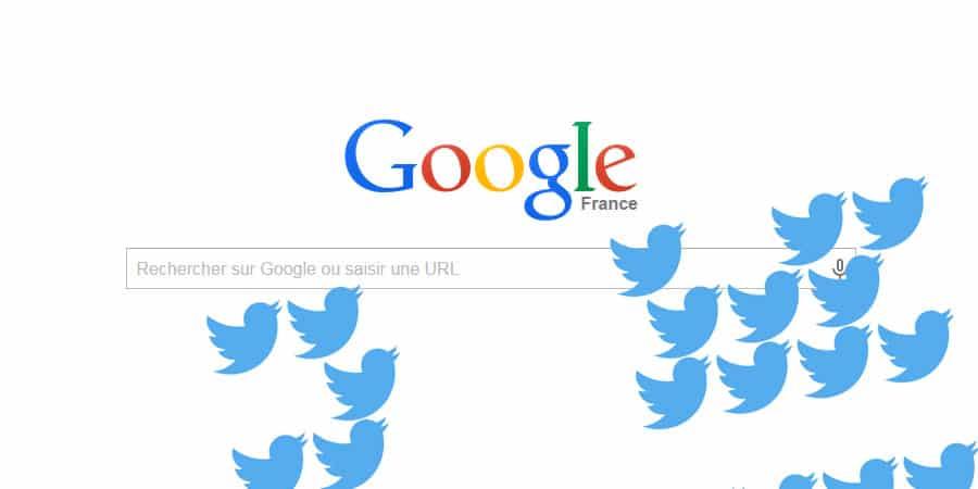 Google confirme l'apparition des tweets dans les résultats de recherche