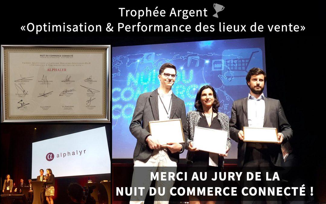 Nuit du commerce connecté: Alphalyr sur le podium de la meilleure innovation B2B !